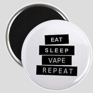 Eat, sleep, vape, repeat Magnet