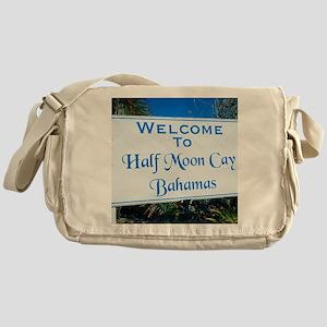 Half Moon Cay Bahamas Messenger Bag