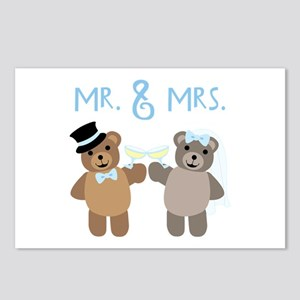 Mr. And Mrs. Postcards (Package of 8)