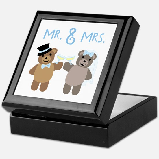 Mr. And Mrs. Keepsake Box