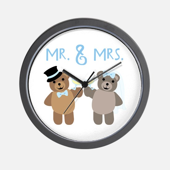 Mr. And Mrs. Wall Clock