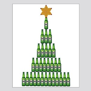 Beer Christmas Tree Posters