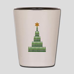 Beer Christmas Tree Shot Glass