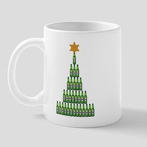 Beer Christmas Tree Mugs