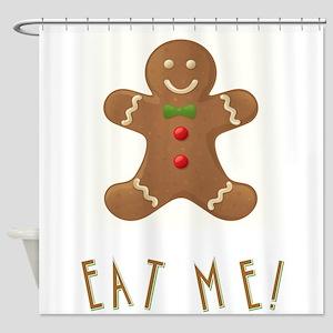 EAT ME! Shower Curtain