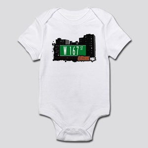 W 167 St, Bronx, NYC Infant Bodysuit