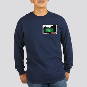 W 167 St, Bronx, NYC Long Sleeve Dark T-Shirt