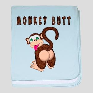 Monkey Butt New Begining baby blanket