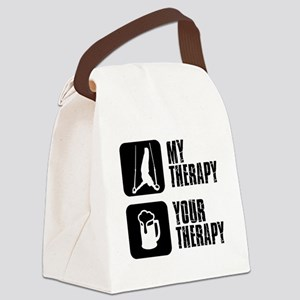 gymnastic my Therapy Canvas Lunch Bag