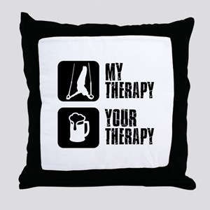 gymnastic my Therapy Throw Pillow