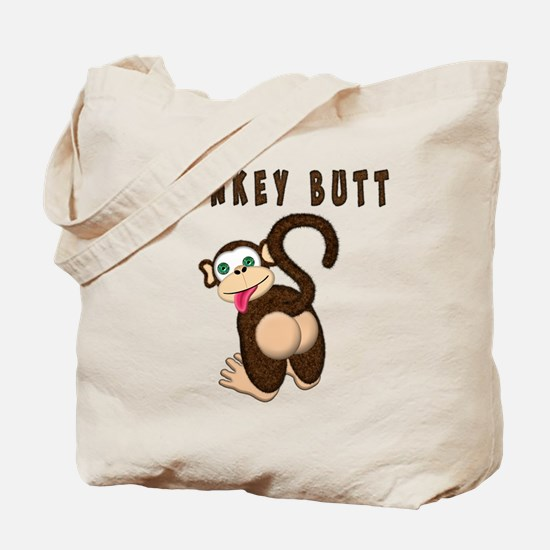 Monkey Butt New Begining Tote Bag