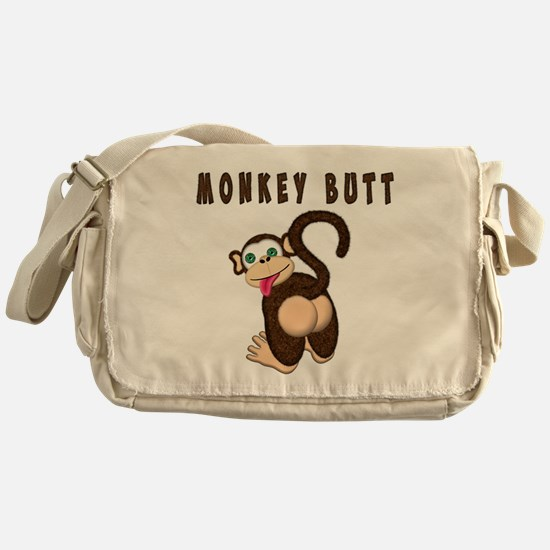 Monkey Butt New Begining Messenger Bag