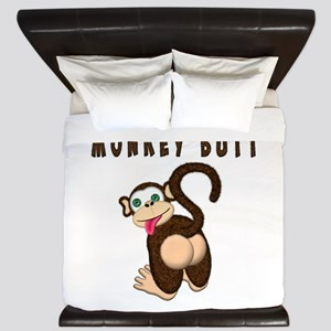 Monkey Butt New Begining King Duvet