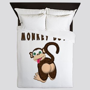 Monkey Butt New Begining Queen Duvet