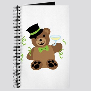 New Years Teddy Bear Journal