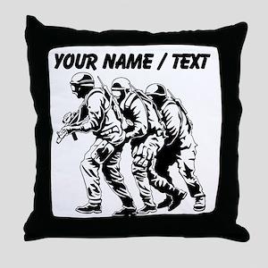 SWAT Team Throw Pillow