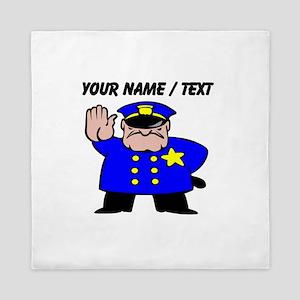 Mean Policeman Queen Duvet