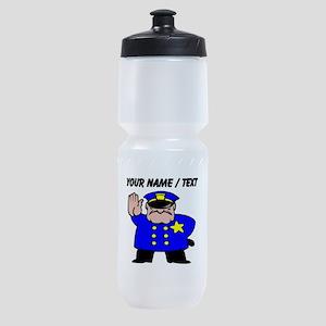 Mean Policeman Sports Bottle
