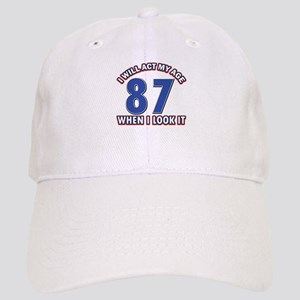 Act 87 years old Cap