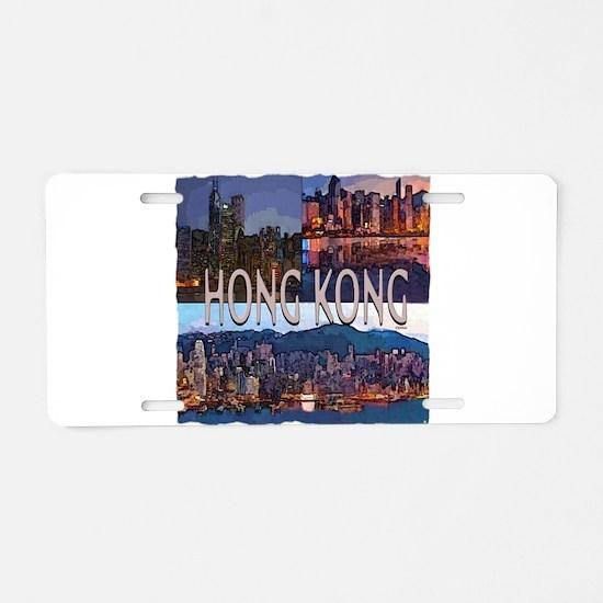 Hong Kong Aluminum License Plate