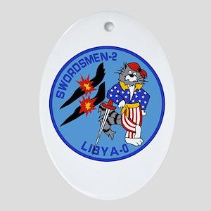 VF-32 Swordsmen Oval Ornament