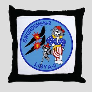 VF-32 Swordsmen Throw Pillow