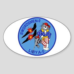 VF-32 Swordsmen Oval Sticker