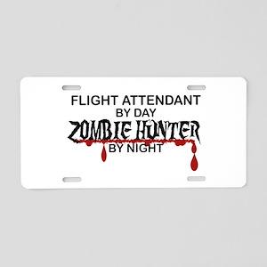 Zombie Hunter - Flight Attendant Aluminum License