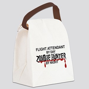 Zombie Hunter - Flight Attendant Canvas Lunch Bag
