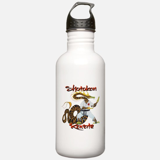 Shotokan Karate Dragon Design Water Bottle