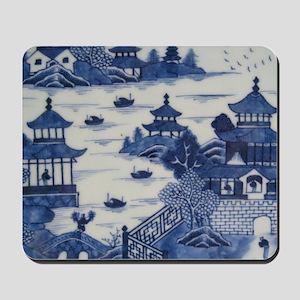 PORCELAIN CHINA ANTIQUE Mousepad