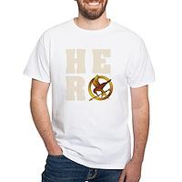 Hunger Games Hero White T-Shirt