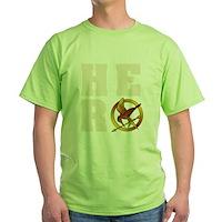 Hunger Games Hero Green T-Shirt
