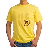 Hunger Games Hero Yellow T-Shirt