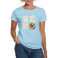 Hunger Games Hero Women's Light T-Shirt