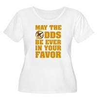 May The Odds Be Ever In Your Favor Women's Plus Si