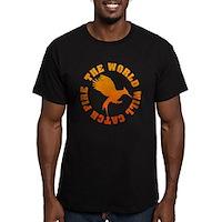 The World Will Catch Fire Men's Fitted T-Shirt (da