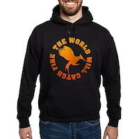 The World Will Catch Fire Hoodie (dark)