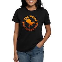 The World Will Catch Fire Women's Dark T-Shirt