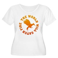 The World Will Catch Fire Women's Plus Size Scoop