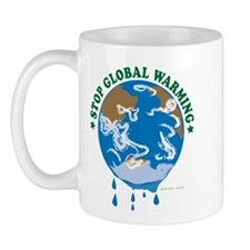 Earth Day : Stop Global Warming Mug