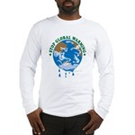 Earth Day : Stop Global Warming Long Sleeve T-Shir
