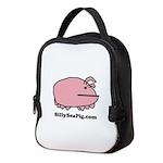 Sea Pig with Website Neoprene Lunch Bag