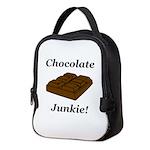 Chocolate Junkie Neoprene Lunch Bag