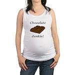 Chocolate Junkie Maternity Tank Top
