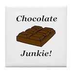 Chocolate Junkie Tile Coaster