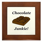 Chocolate Junkie Framed Tile