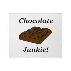 Chocolate Junkie Throw Blanket