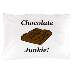 Chocolate Junkie Pillow Case