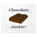 Chocolate Junkie King Duvet